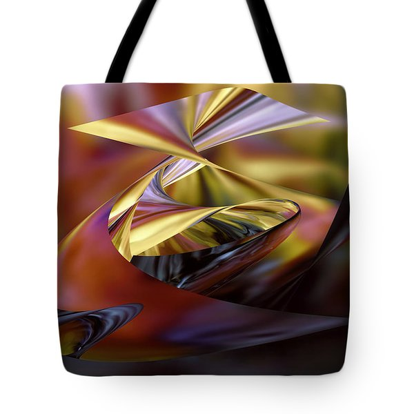 Deep Sea Mirage Tote Bag by Diane Dugas