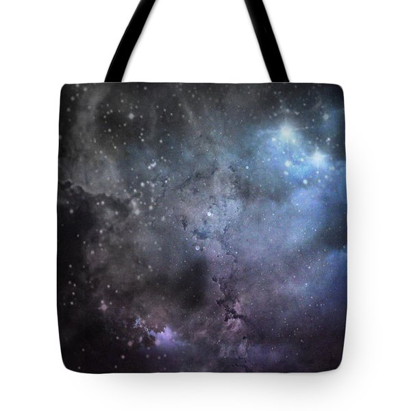 Deep Space Tote Bag by Cynthia Lassiter