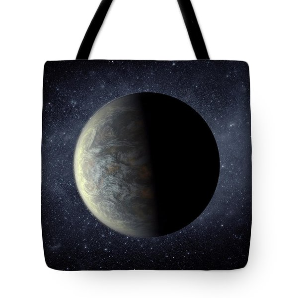 Deep Space Planet Kepler-20f Tote Bag by Movie Poster Prints
