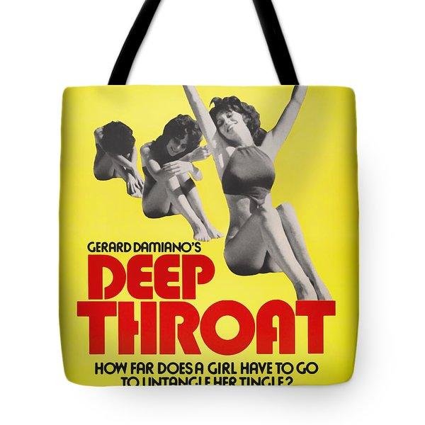 Deep Throat Movie Poster 1972 Tote Bag