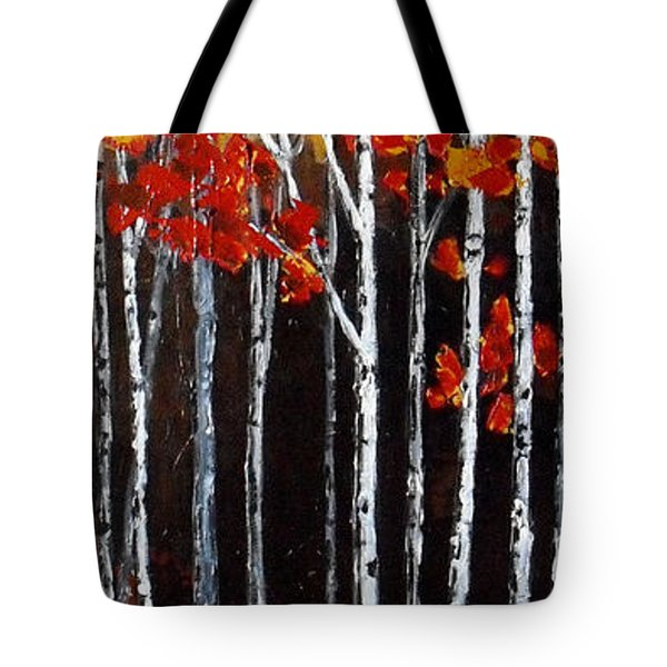 Deep Tranquility Tote Bag by Vickie Warner
