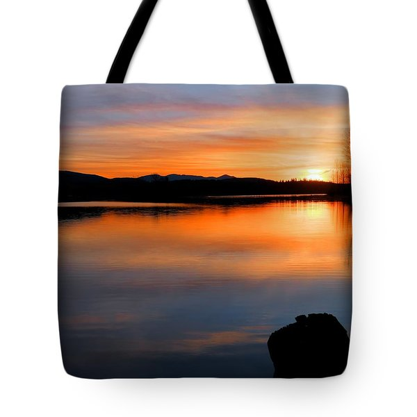 Deepening Light Tote Bag