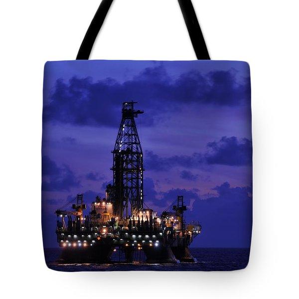 Deepwater Horizon Revisited Tote Bag