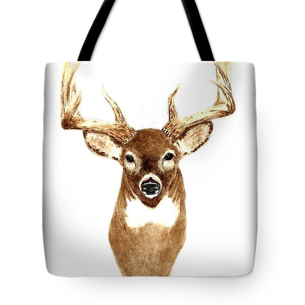 Deer - Front View Tote Bag