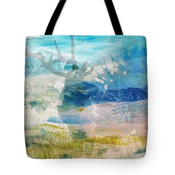 Deer Hunter Madness Tote Bag by PainterArtist FIN and Maestro