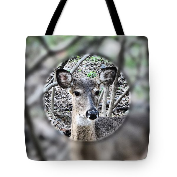 Deer Hunter's View Tote Bag