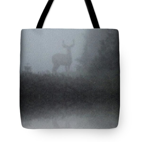 Deer Reflecting Tote Bag