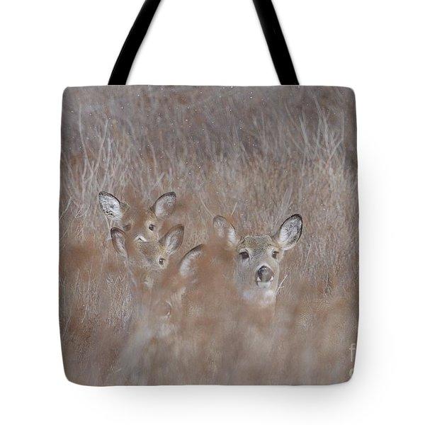 Deer Soft Tote Bag