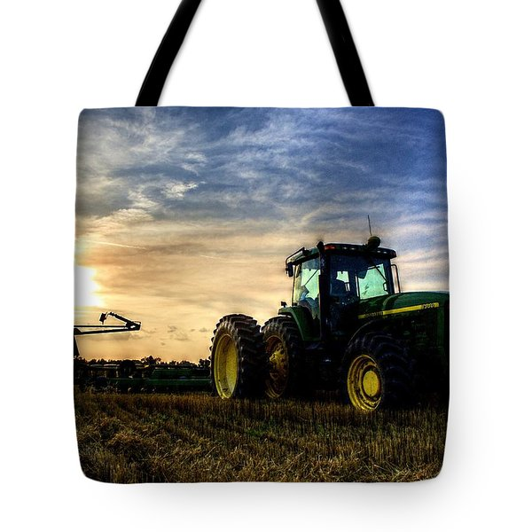 Deere Sunset Tote Bag