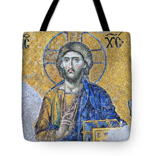 Deesis Mosaic -- Hagia Sophia Tote Bag
