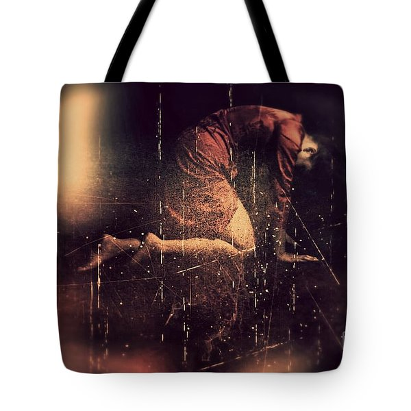 Defeated Tote Bag by Jessica Shelton
