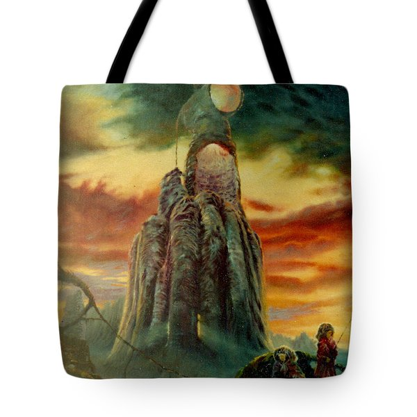 Defenders Of Rocky Desert Tote Bag