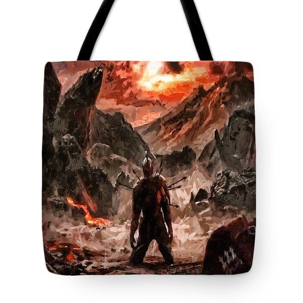 Defiant To The End Tote Bag