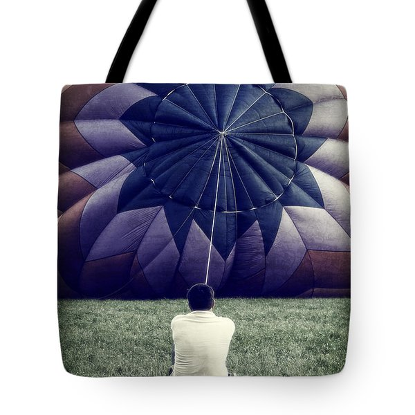 Deflated Tote Bag by Edward Fielding