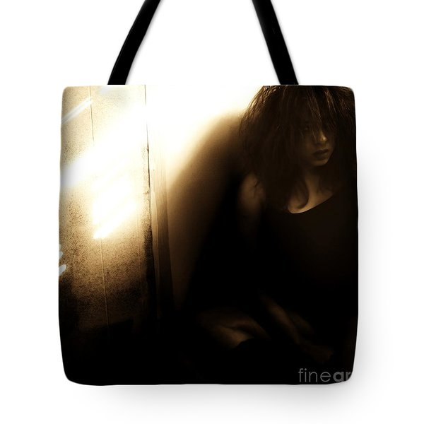 Dejection Tote Bag by Jessica Shelton
