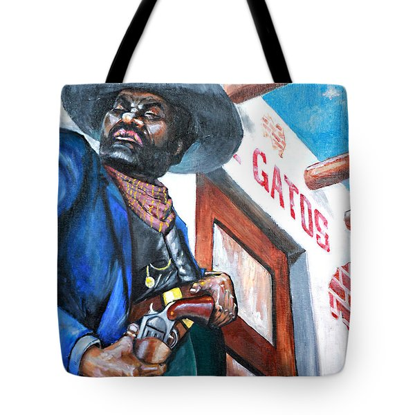 Del Gato's Place Tote Bag by George Ameal Wilson