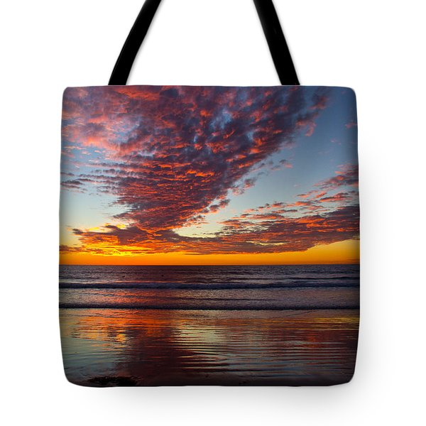 Del Mar Sunset 14 Tote Bag