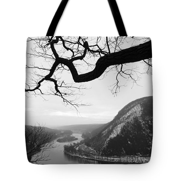 Delaware Water Gap In Winter Tote Bag