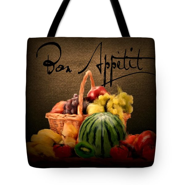 Delectable Sight Tote Bag by Lourry Legarde