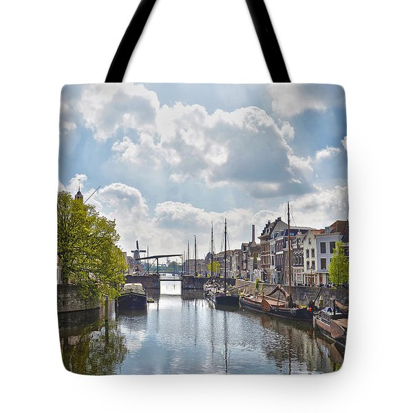 Delfshaven Rotterdam Tote Bag by Frans Blok