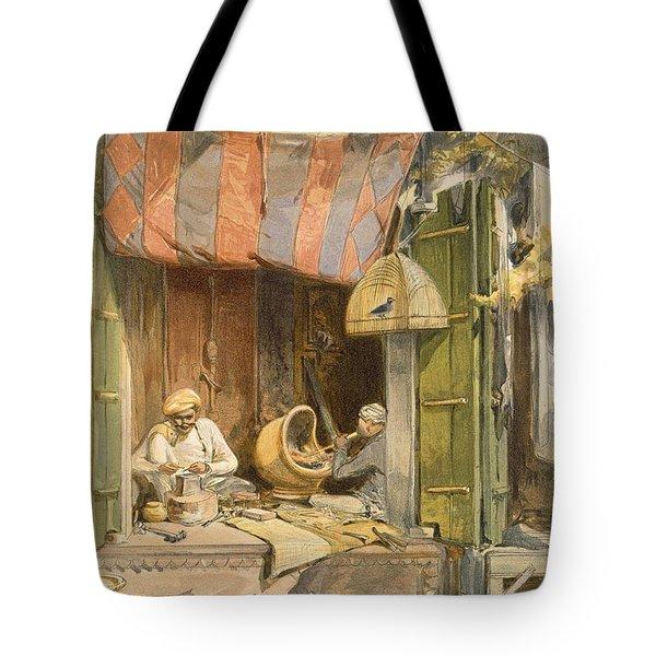 Delhi - Jeweller, From India Ancient Tote Bag