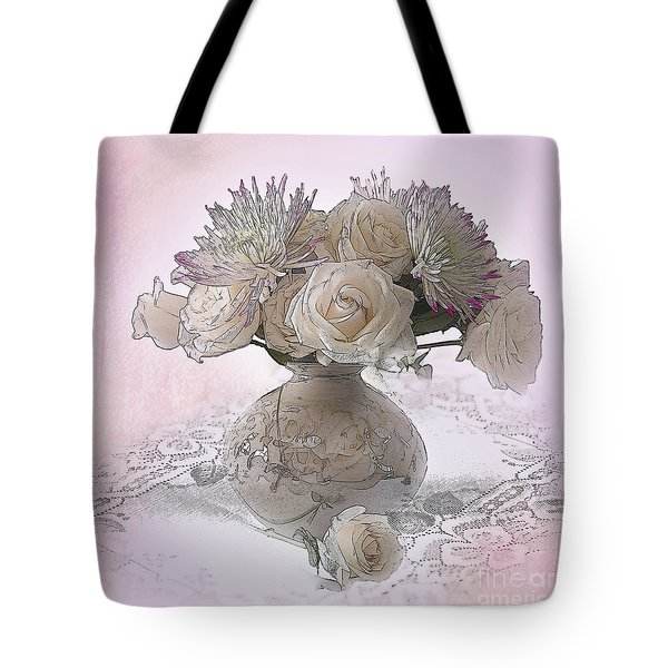 Delicacy Tote Bag by Betty LaRue