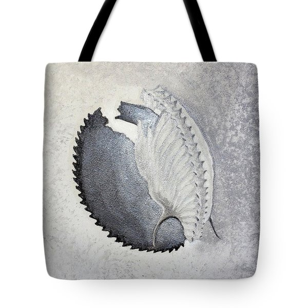 Tote Bag featuring the painting Delicata II Detail by Ashley Kujan
