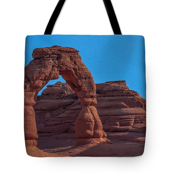 Delicate Arch Tote Bag by Tim Bryan