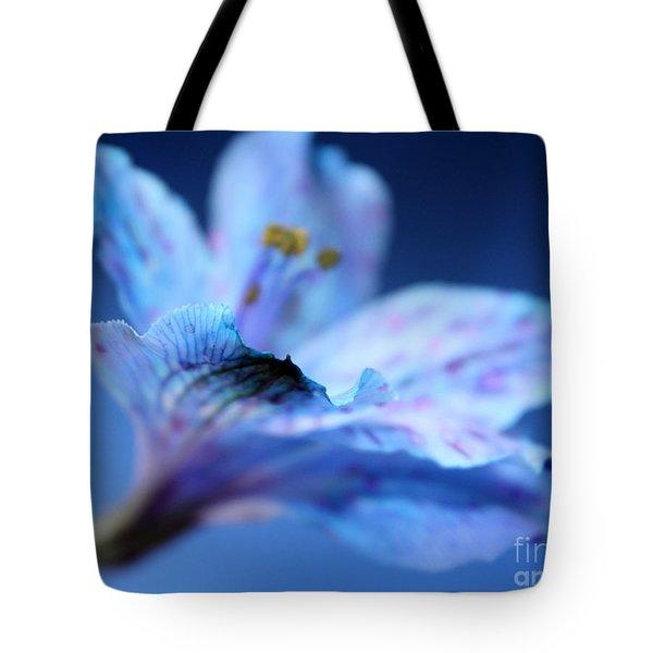 Delicate Blue Tote Bag