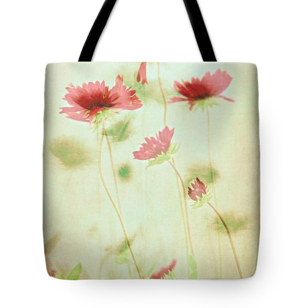 Tote Bag featuring the photograph Delicate Dance by Patricia Strand