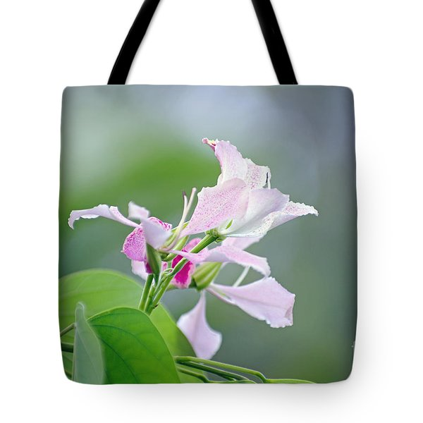 Delicate Delight Tote Bag by Kerryn Madsen-Pietsch