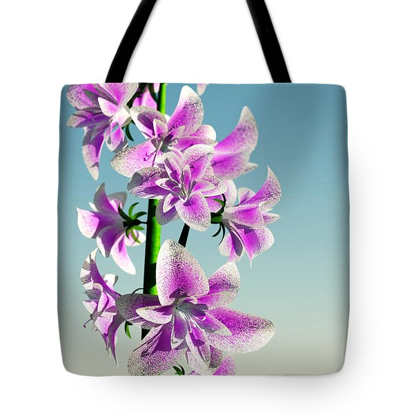 Delicate Flower... Tote Bag by Tim Fillingim