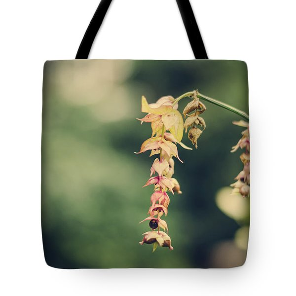 Delicate Tote Bag by Heather Applegate