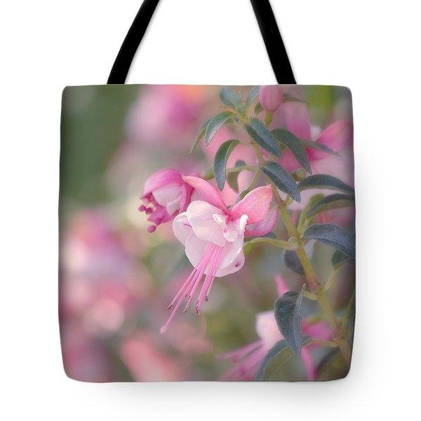 Delicate Tote Bag by Kim Hojnacki