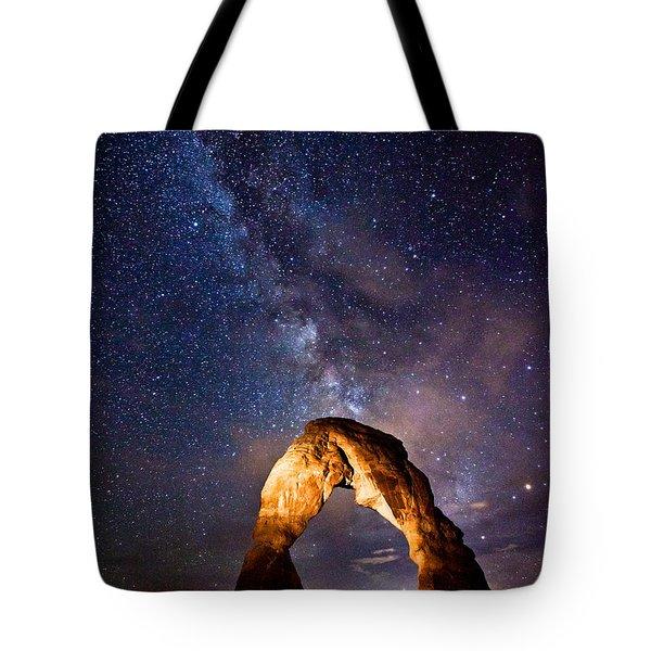 Delicate Light Tote Bag by Darren  White