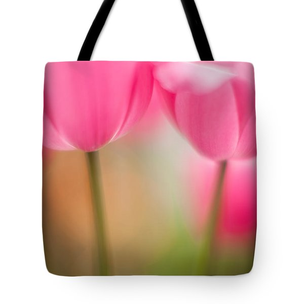 Delicate Light Of Spring Tote Bag by Mike Reid