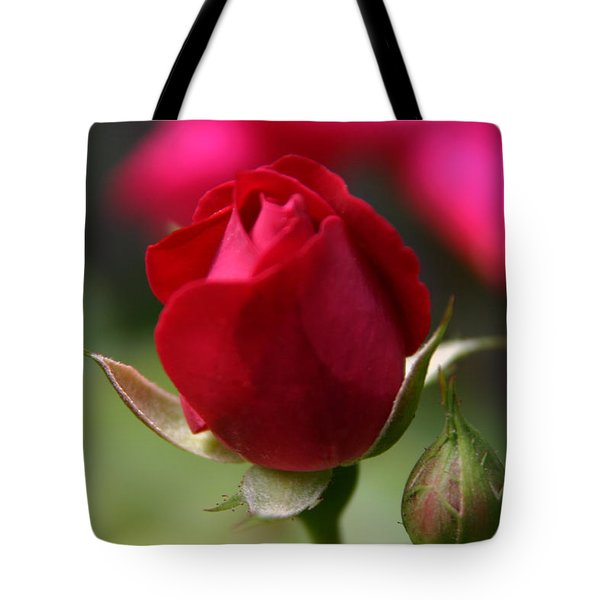 Tote Bag featuring the photograph Delicate Opening  by Denyse Duhaime