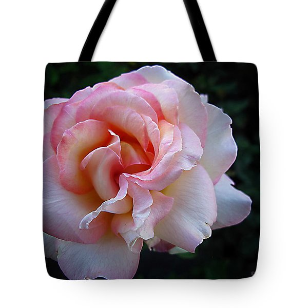 Tote Bag featuring the photograph Delicate Pink by Joyce Dickens
