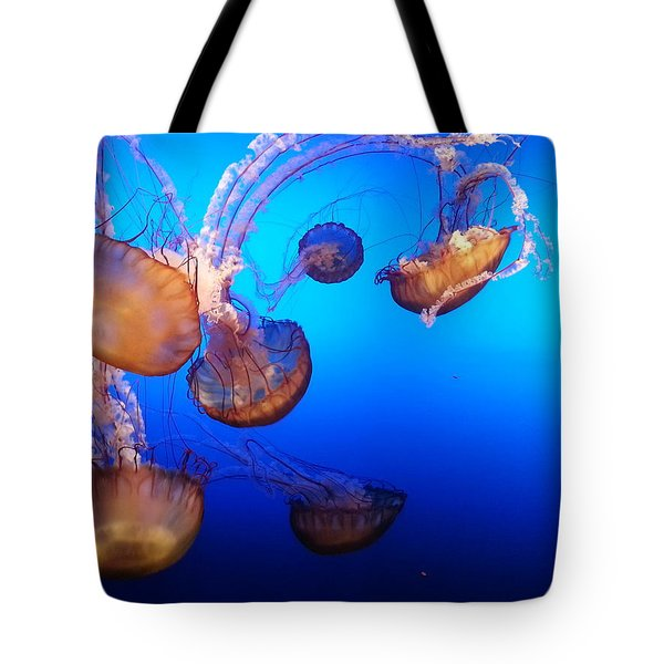 Tote Bag featuring the photograph Delicate Waltz by Caryl J Bohn