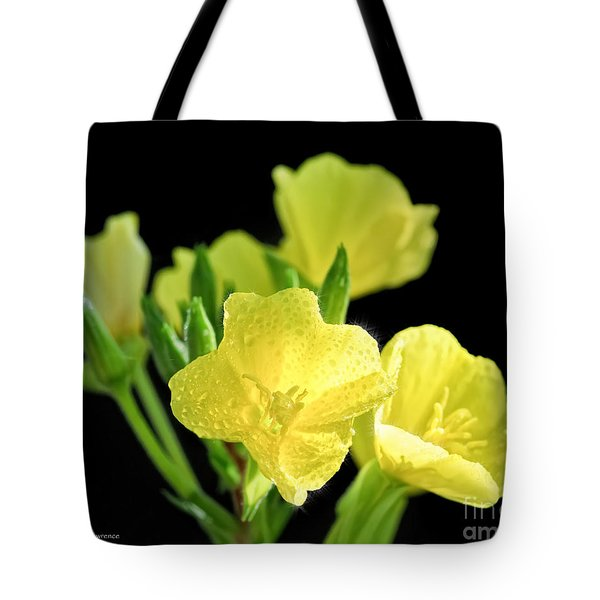 Delicate Yellow Wildflowers In The Sun Tote Bag