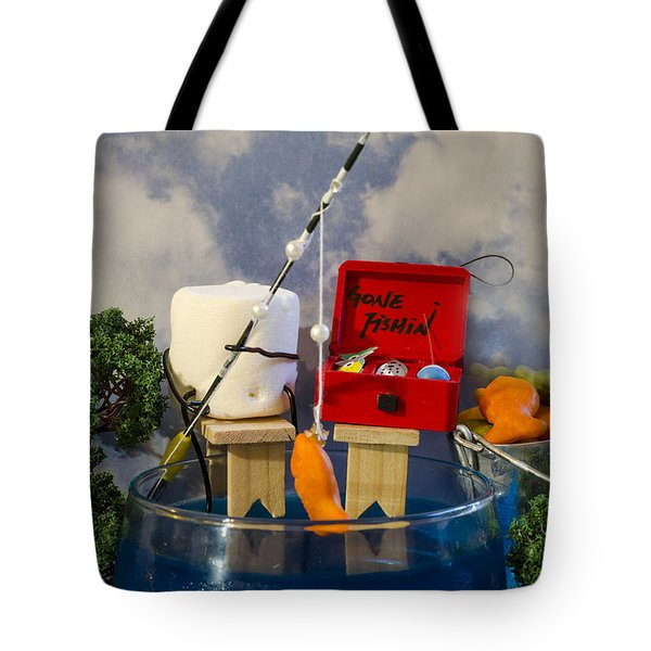 Delicious Fish Tote Bag by Heather Applegate