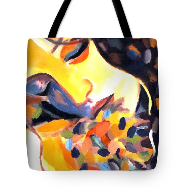 Tote Bag featuring the painting Delight by Helena Wierzbicki