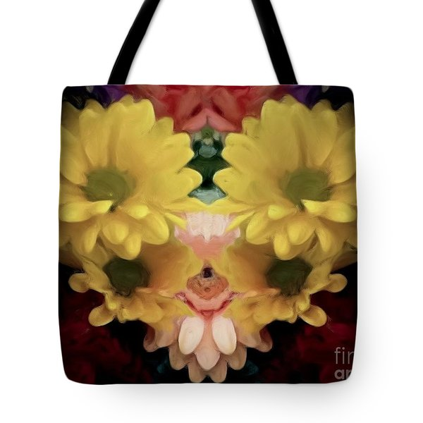 Tote Bag featuring the photograph Delightful Bouquet by Luther Fine Art