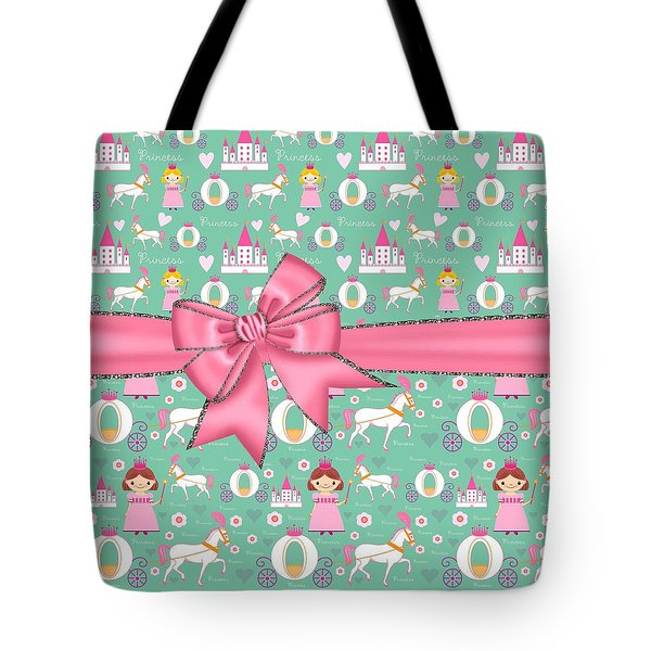 Delightful Princessess Tote Bag by Debra  Miller