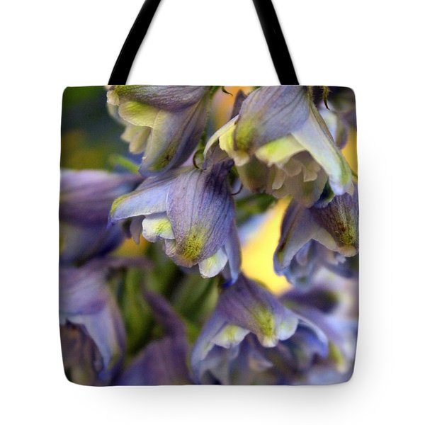 Delphinium Blue Tote Bag by Joseph Skompski