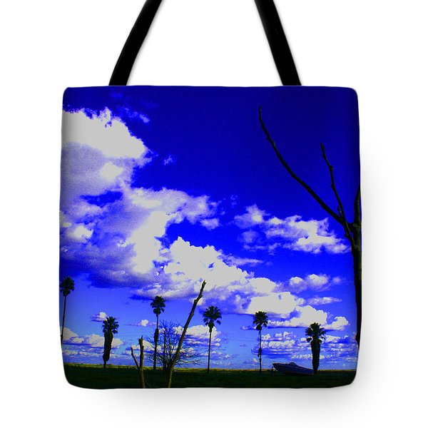 Delta Clouds Tote Bag