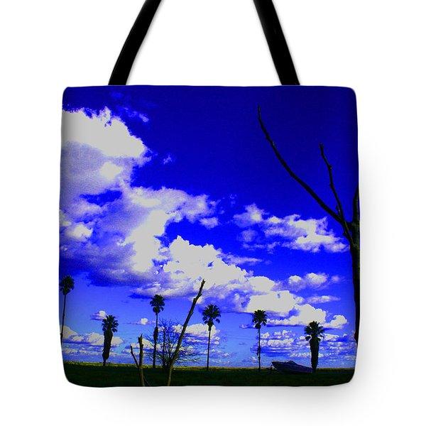 Delta Clouds Tote Bag