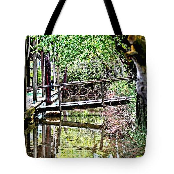 Delta Marina Dock Tote Bag