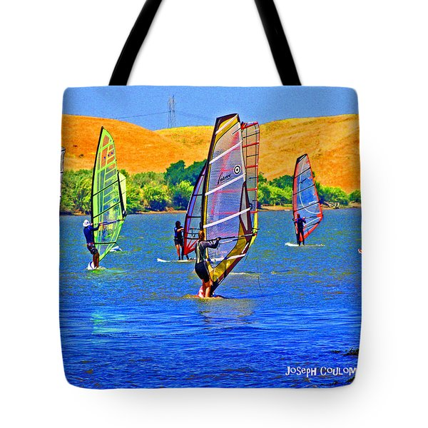 Delta Water Wings Tote Bag