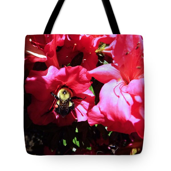 Tote Bag featuring the photograph Delving Into Sweetness by Robyn King